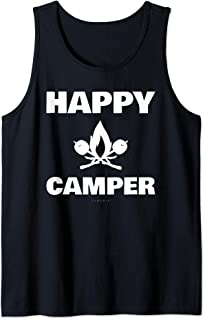 Happy Camper Tanks - Funny Camping. Camping Lover Gift Tank Top