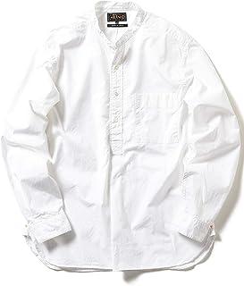 [ビームス] ワイシャツ カジュアルシャツ PLUS ブロード バンドカラー プルオーバーシャツ メンズ