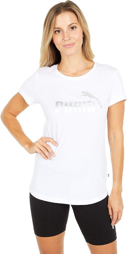 Puma White/Silver