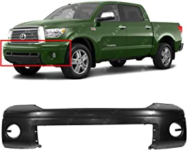 MBI AUTO - Primered, Front Bumper Cover Fascia for 2007-2013 Toyota Tundra W/Park 07-13, TO1000333