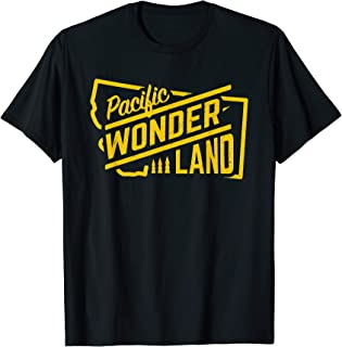 Pacific Wonderland Oregon State T-Shirt