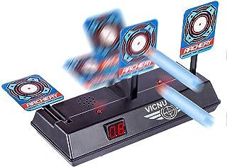 Vicnunu Electric Scoring Auto Reset Shooting Digital Target for Nerf Guns Blaster Elite/ Mega/ Rival Series