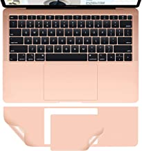 MacBook Air A1932 Palm Rest Skin, CASEBUY PalmRest Cover with Trackpad Protector for MacBook Air 13-inch Model A1932 2018 Protective Vinyl Decal Cover Sticker, Rose Gold