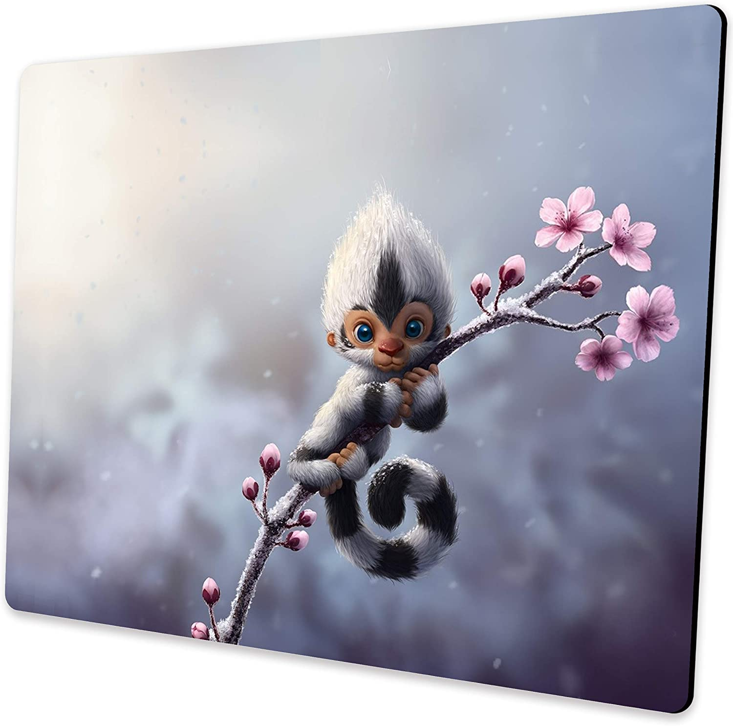Shalysong Cute Animal Monkey Mouse pad Free shipping with Computer OFFer D