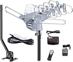 McDuory Outdoor 150 Miles Digital Antenna 360 Degree Rotation Amplified HDTV Antenna..