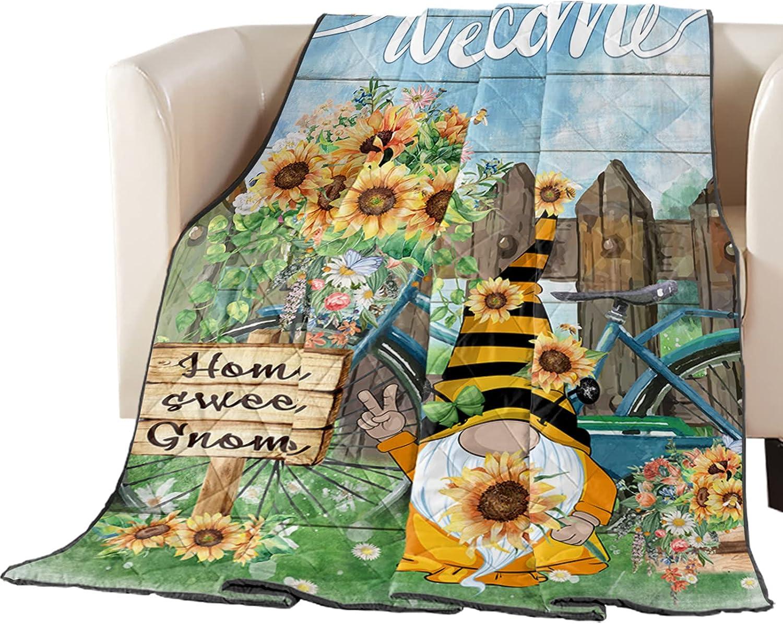 Dedication Arts Print Twin Size Quilt Soft All Popular brand Throw Bedspread Lightweight