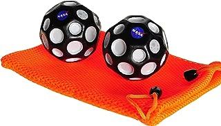 Waboba NASA High Bounce Moon Ball Bundle of 2 _w Orange Pouch