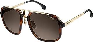 Carrera Men's Ca1003s Aviator Sunglasses, Havana Gold/Brown Gradient, 58 mm