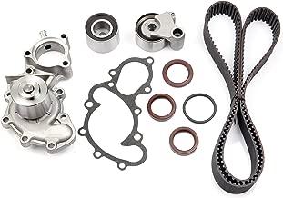 ECCPP Fits 95-04 Toyota Tacoma 4Runner T100 3.4L 3.4 DOHC 5VZFE Timing Belt Water Pump kit Tensioner