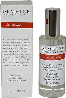 Demeter By Demeter Womens Sandalwood Cologne Spray 4 Oz