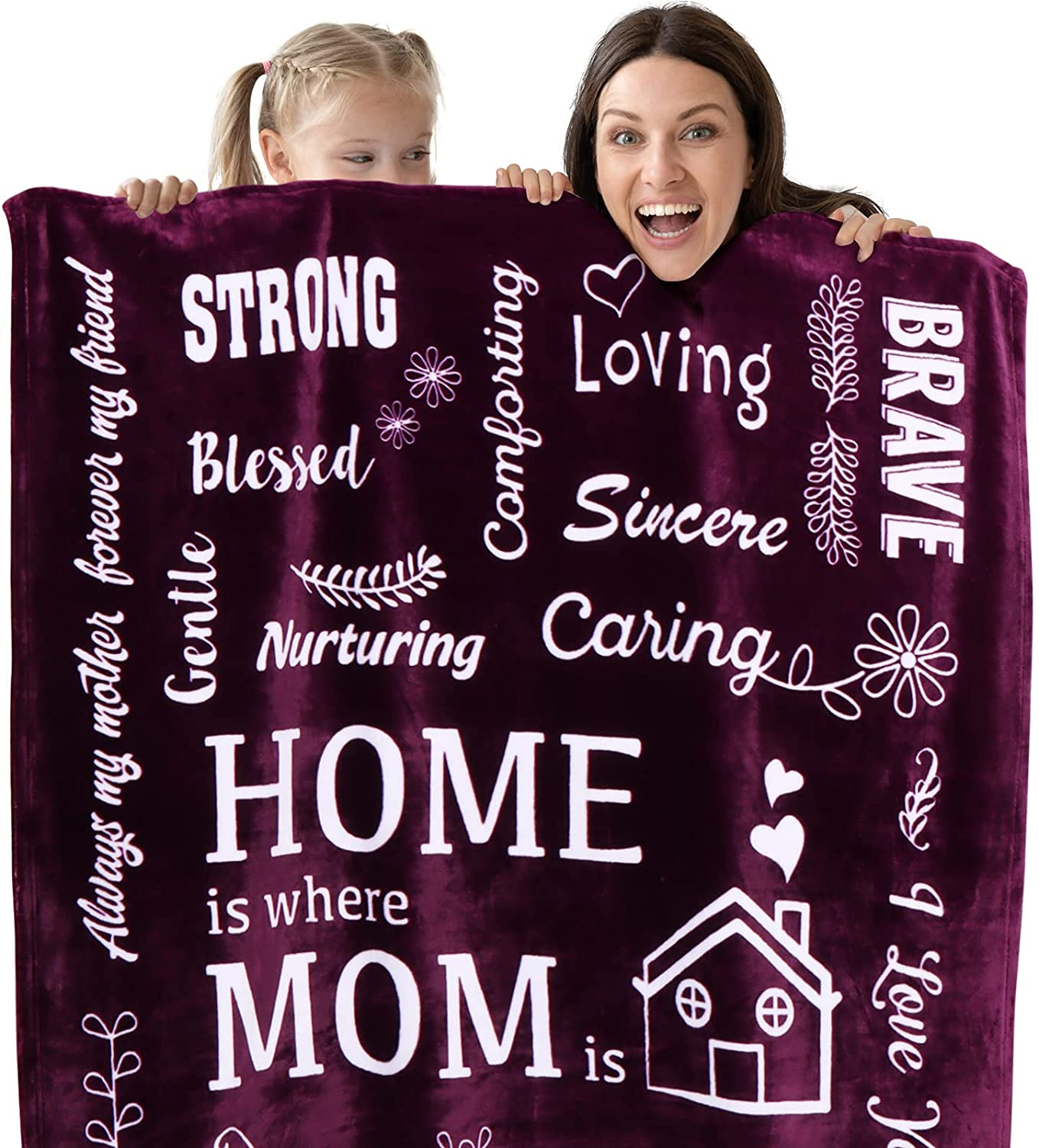 Jubeely Mom Blanket Ranking TOP16 - Soft Cozy Warm Now on sale with In Fabric Kind
