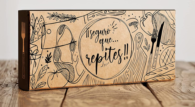 B BALSAT Caja Kraft Envio Alimentos Comida Domicilio Envase desechable Cachopos Caja envio comida domicilio Caja Fritos De Kraft Envio comidas calientes Take Away 50 ud.