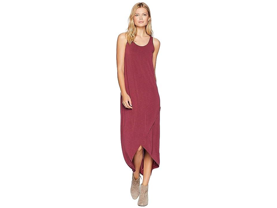 NIC+ZOE Boardwalk Dress (Washed Raisin) Women