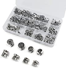0.59X0.49 inch for Furniture Construction Sanity Joint Connector Nut PAGOW 20 Count.Furniture Cam Lock Fasteners Fittings Cabinet Drawer Dresser Wardrobe Furniture Panel Connecting