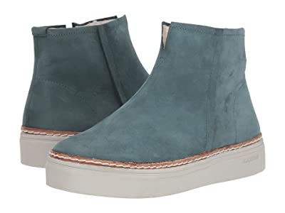 Blackstone Shearling Lined Sneaker Boot OL27 (Mallard Blue) Women