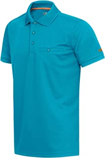 CMP Quick-Drying Short-Sleeved Polo Shirt, Uomo