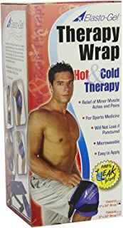 Elasto Gel Hot/Cold Gel Wraps X-Large, Adjustable Diamond Shape, Microwavable & Freezable Knee Wrap (Therapy Wrap)