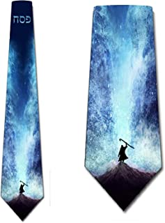 Holiday Ties Mens Religious Tie Passover Necktie by Three Rooker
