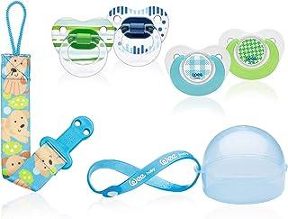 Wee Baby 024 Emzik Seti 6-18 ay, Mavi
