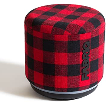Portable WiFi and Bluetooth Smart Speaker with Amazon Alexa by FABRIQ: Wireless Connectivity with Stereo Pairing for Multi-Room Home Audio