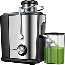 Juicer Wide Mouth Juice Extractor, Aicook Juicer Machines BPA Free Compact Fruits &..