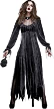 Aiybao Women's Horror Zombie Costumes Vintaged Halloween Cosplay Ghost Bride Dress
