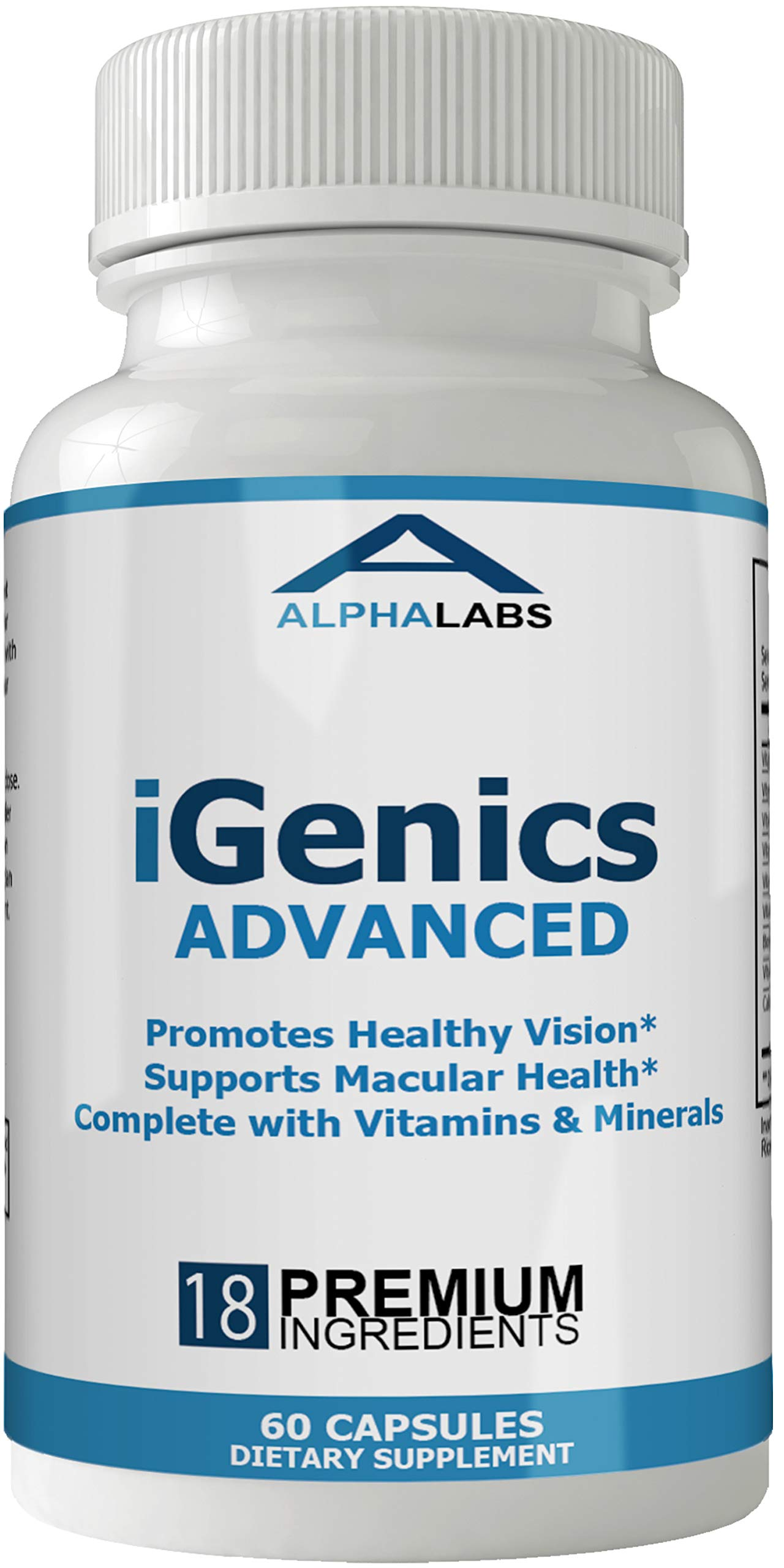 Igenics Supplement Advanced Vitamins Zeaxanthin
