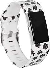 RedTaro Replacement Bands Compatible with Fitbit Charge 2, Fitbit Charge 2 Accessories Wristbands with Special Floral Edition