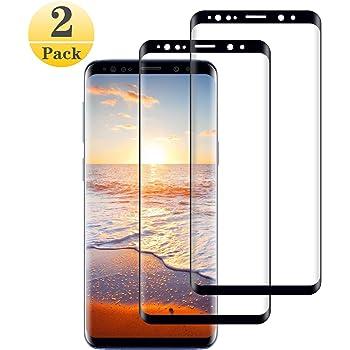 Cristal Templado para Samsung Galaxy S9 Plus (3D Curvo) [2 Piezas ...