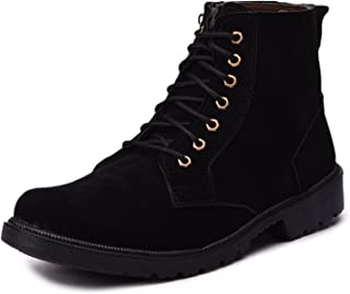 Andrew Scott Mens Synthetic Leather Boots