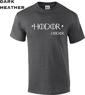 109 Hodor Quote Funny Men's T Shirt