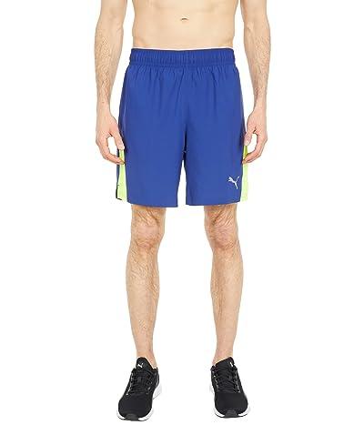 PUMA Run Favorite 7 2-in-1 Woven Shorts (Elektro Blue/Yellow Alert) Men