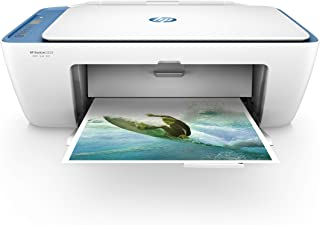 HP DeskJet 2635 Wireless All-in-One Compact Color Inkjet Printer, Scan and Copy with Mobile Printing - Renewed (Blue)