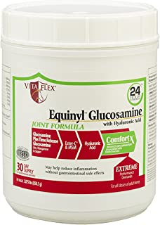 Vita Flex Equinyl Glucosamine with Hyaluronic Acid Joint Formula, 30 Day Supply, 1.875 lbs