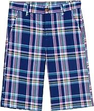 Nautica Boys' Printed Flat Front Short
