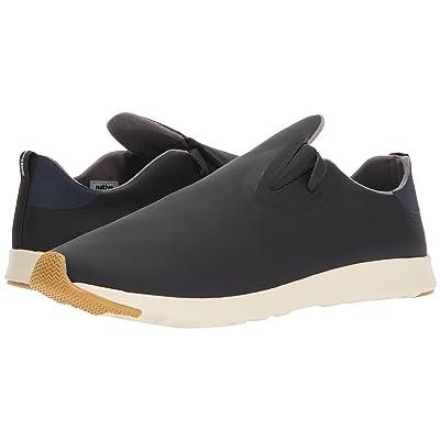 Native Shoes Apollo Moc (Jiffy Black/Regatta Blue/Bone White/Natural Rubber) Shoes