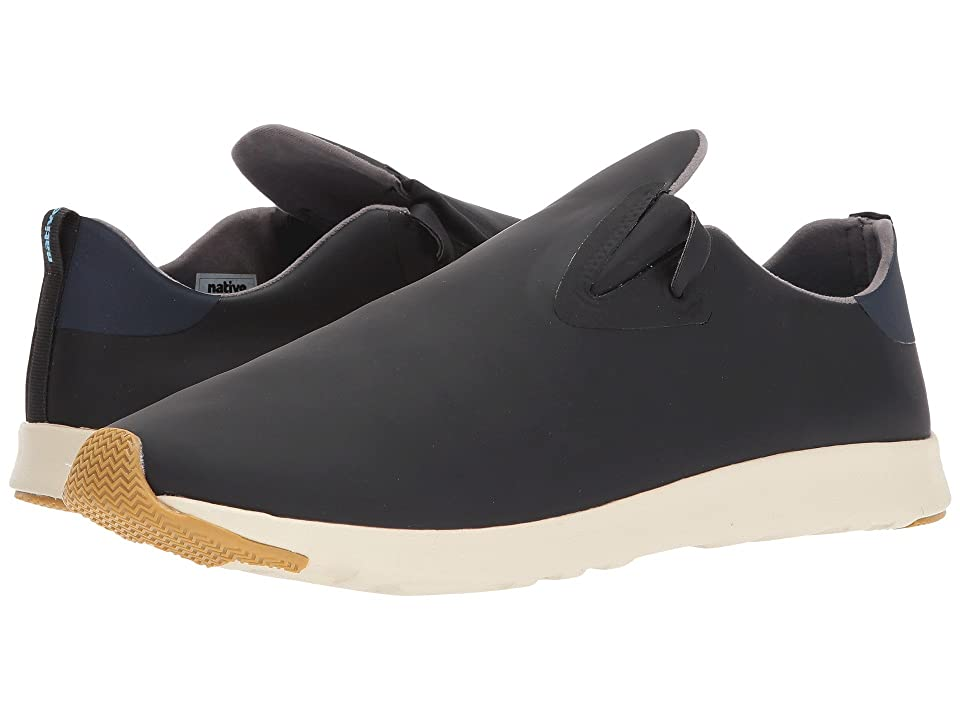 Native Shoes Apollo Moc (Jiffy Black/Regatta Blue/Bone White/Natural Rubber) Shoes