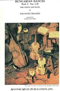 Hungarian Dances for Violin and Piano, Nos. 1--10
