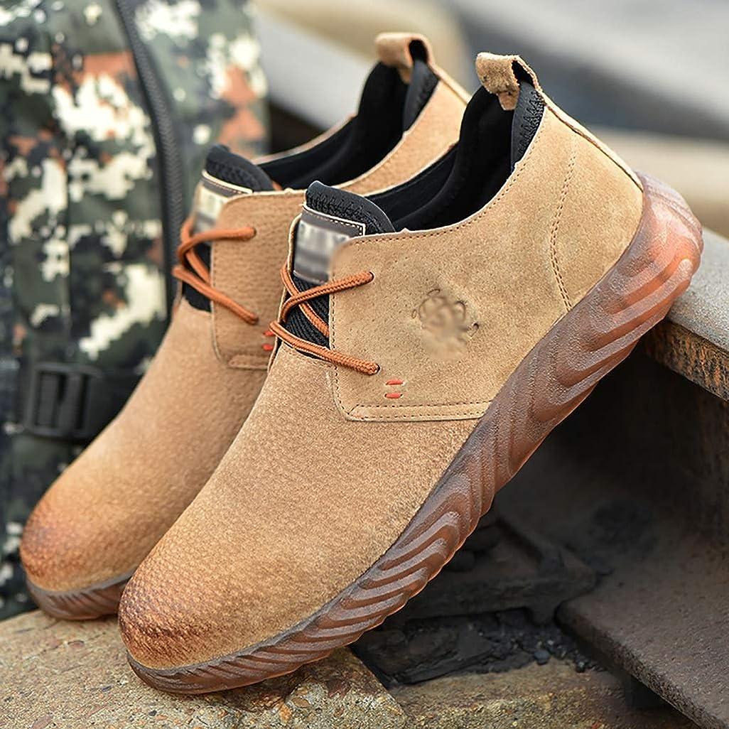 平日フクロウ航空会社安全靴?作業靴 ウォーキングシューズ完全防水アウトドアハイキング/トレッキングクライミングシューズアプローチシューズ軽量通気性トレイルランニングトレーナー (サイズ さいず : 42)