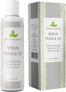 Sensual Massage Oil for Sex - Best Anti Aging for Men and Women - Anti Cellulite Massage Oil with All Natural Ingredients - Deep Tissue Relief - Aromatherapy Pure Lavender Essential Oil for Skin