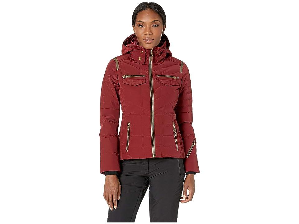 Obermeyer Devon Down Jacket (Major Red) Women
