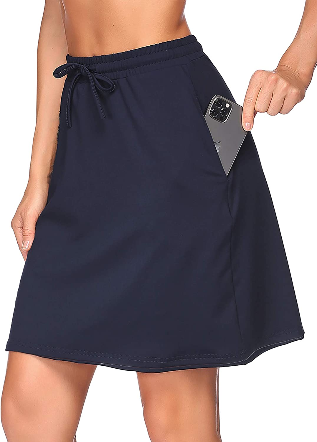 COOrun Athletic Skorts Skirts for Knee Ten Women Length New item Max 77% OFF Stretchy