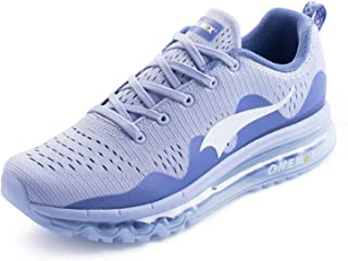 ONEMIX Men's Running Trainers Shoes Lightweight Cushioning Gym Fitness Outdoor Sneakers
