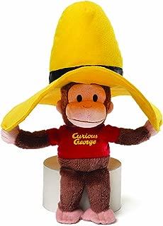 GUND Curious George Yellow Hat Plush