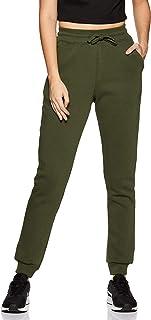 Amazon Brand - Symbol Women's Slim Fit Knit Winterwear Track Pants