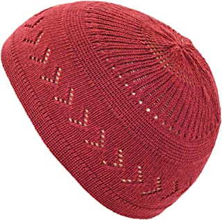 8a09218e72b Muslim Bookmark Stretchy Elastic Beanie Kufi Skull Cap Hats Featuring Cool  Designs and Stripes