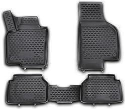 Auto-Fußmatten Exclusive Blue für VW Tiguan 2007-2016 Automatten Autoteppiche