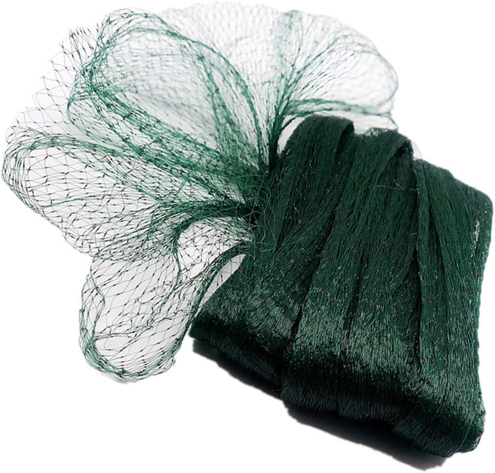 Max 86% OFF POYEE Garden Netting- 6.5 Ft x Green Las Vegas Mall 50 Mesh 0.3 Inch