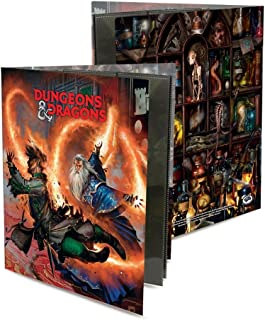 Ultra Pro Officially Licensed Dungeons & Dragons Wizard Character Folio