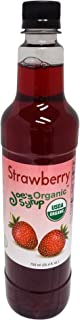 organic peach syrup